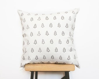 Cushion cover, Decorative nordic scandinavian pillow covers with modern tree print