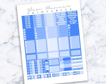 Printable Planner Stickers: 11 (Erin Condren Life Planner PDF)