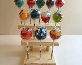 Cake Pop Display / Lollipop Holder / 3 Tier / Holds 12 / Cake Pop Lollipop Stand