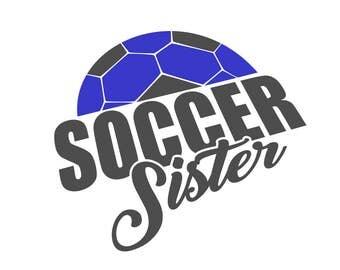 Soccer Sister - svg file