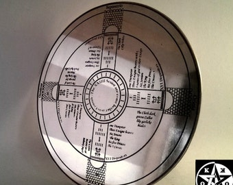 Large The Talisman of Dr. John Dee Enochian Magick Altar Pentacle