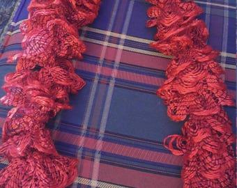 Red cha cha scarf