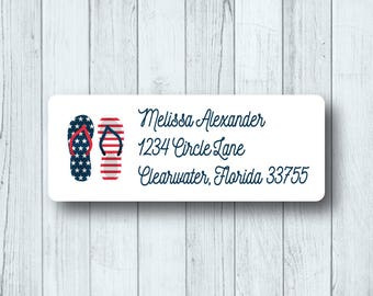 4th of july labels | Etsy