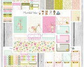 Freestyle Planning - Sweet Mice Kit - planner stickers