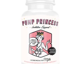 Pump Princess Organic Lactation Herbal Supplement