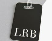 Monogram Luggage Tag  Personalised Luggage Tag  Identification tag  Bag tag  Suitcase tag   Custom Luggage Tag  Travel  Bag Tag