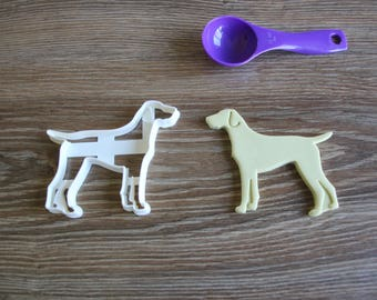 german shorthaired pointer wedding cake topper german cookie cutter etsy 14674