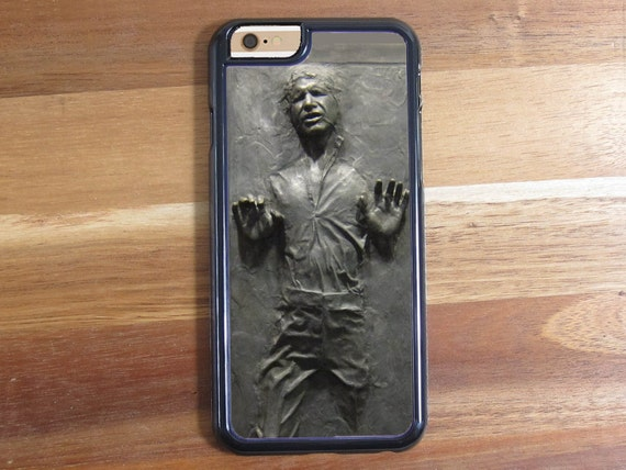 Han Solo In Carbonite Star Wars Label iphone 5 5S 5C Iphone 6