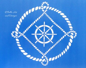 List 10 -  Nautical stencils *Free gift with every order*