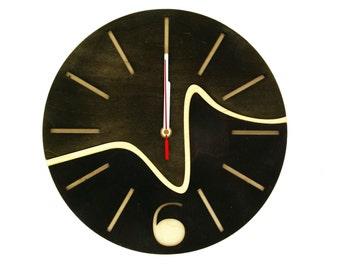 reclaimed wood clock line wooden wall clock handmade clock wood wall clock wooden clock home living