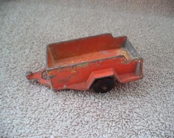 Tootsietoy , Trailer , Toy Diecast trailer , Vintage diecast toy , Toy from the 1970's , Die cast toy , Vintage tootsie toy