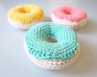 Crochet food - donut