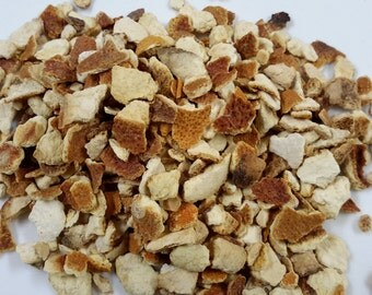 Dried Orange Peel, potpourri, soap making, bath bomb supplies, loose leaf, herbal tea, sachet, orange tea, citrus, dried fruit, orange peel