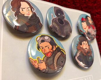 Chibi Rogue One Buttons