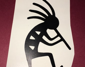 Kokopelli, Kokopelli art, Kokopelli decal, Kokopelli iron on, native America , Indian