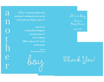 Baby Shower - Another Boy