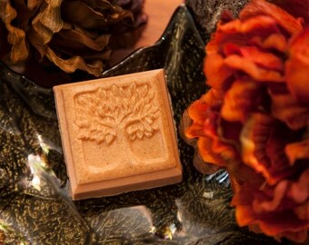 Tree of Life+Under the Leaves Phthalate Free Oil+All Natural Oatmeal and Shea Butter+4 oz.+Artisan Bar Soap