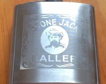 Stone Jack Baller Pigpen Grateful Dead 6oz flask. Preorder ships June 11.