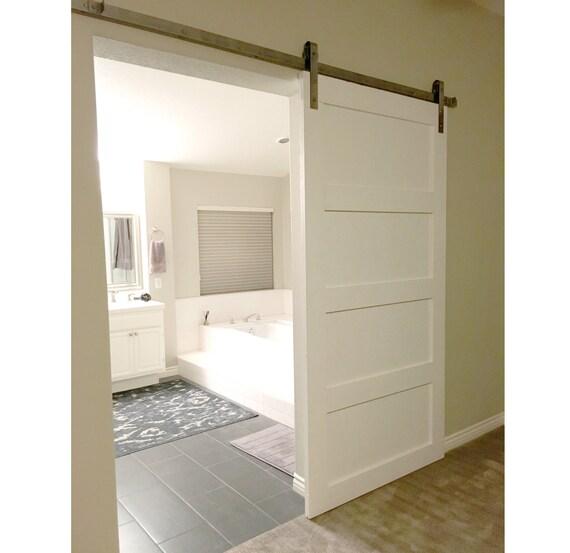 Stylish Interior Door Design Trends Personalize Modern: Custom Sliding Barn Door, Modern, Reclaimed, Shaker Style