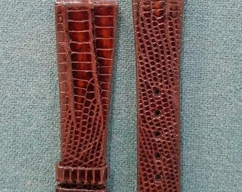 Patek Philippe Brown Alligator Watch Strap 19mm