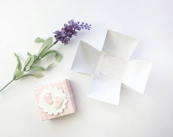 Christening Favour Boxes - Baptism Favours - Christening Thank You Box - Baby Shower Favors - Baby Girl Shower Favours - Christening Favors