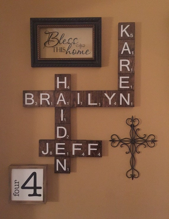 wood letters for wall 3 5 wooden scrabble letters for wall decor scrabble 25668