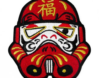 Star Wars Patch, Morale Patch, Daruma / Dharma, Daruma Star Wars Stormtrooper