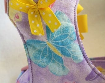 Small dog  Harness / Butterfly/Girl Harness/No Pull