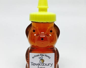 Artisan Raw Honey 6 oz. Bear Jar Pure All Natural Honey From our Hives to your Home