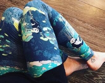 Leggings for women, ultra comfortable * panda