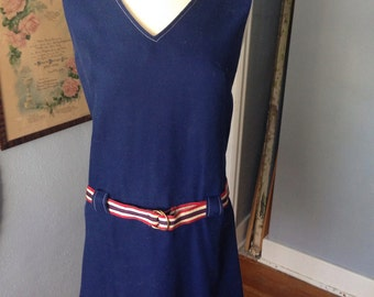1960's blue jumper.