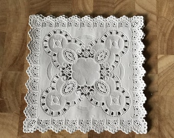 5 Inch Square Doilies