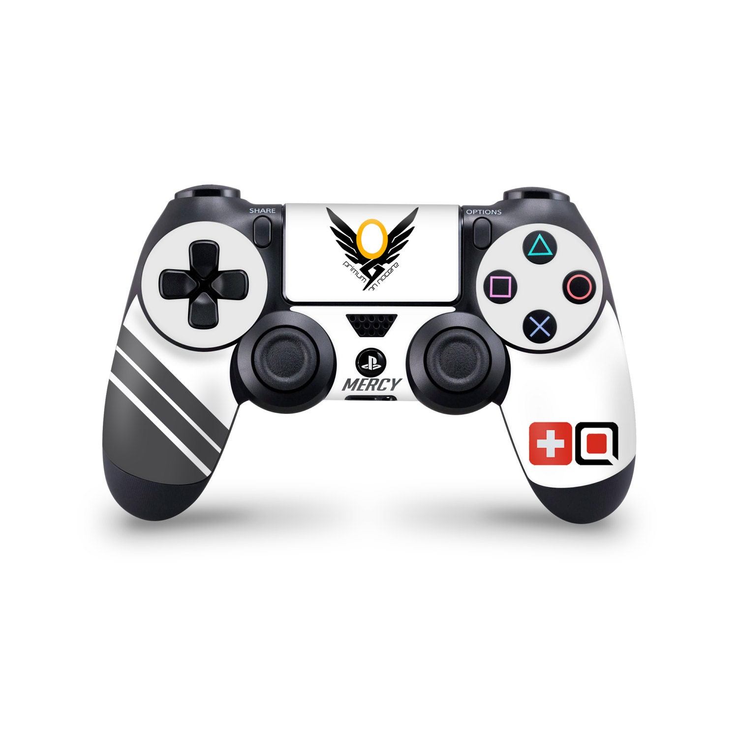 Ps4 Overwatch Mercy Controller Skin Wrap Custom Decal Sticker