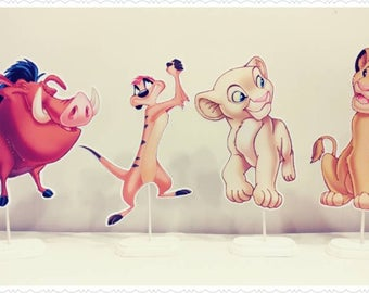 Lion King Stand Up Character Party Centerpieces--Kid's/Children's Party Decorations--Any Theme Any Character