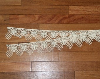 Old lace crochet