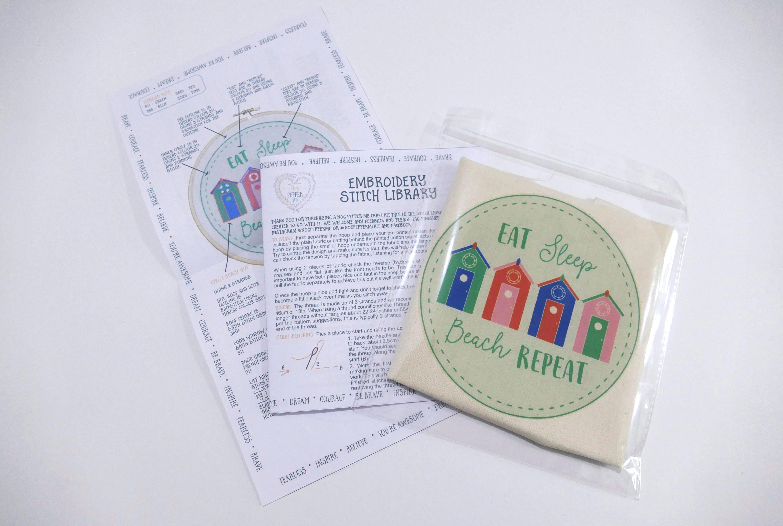 Sale diy embroidery beginner pattern modern