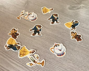 Beauty and the Beast Confetti ( 100 pieces)