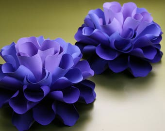 """Small paper flowers,  table decor  """"GABRIELLE"""""""