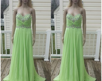 Lime Bridesmaids Dresses Lime Evening Gowns Lime Chiffon Dresses Lime Evening Dresses Lime Lime Strapless Dresses Prom dresses Prom gowns
