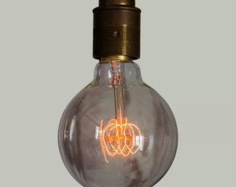 Edison Filament Bulb - Large Squirrel Cage Globe