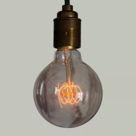 Edison Filament Bulb - Large Squirrel Cage Globe