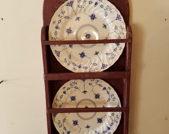 Primitive Hanging Plate Rack