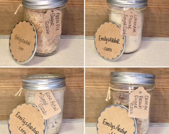 Large Gift Bulk Ordering** Sugar Scrubs/ Party Favors/ Bridal Shower Gifts/ Baby Shower Gifts