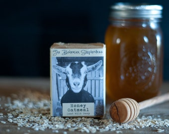 Honey Oatmeal | Goat Milk Soap