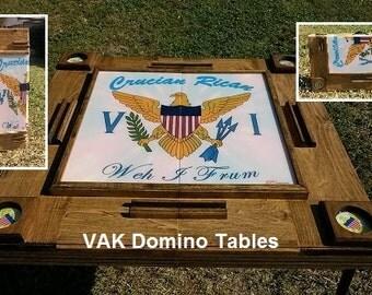 Virgin Islands custom Domino Table