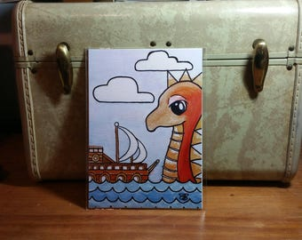 Sea Monster #1