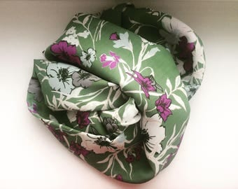 Scarf Snood from Silk and Viscose