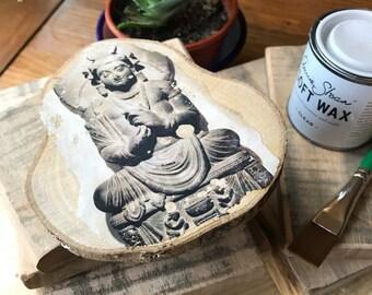 Wood block art/photo