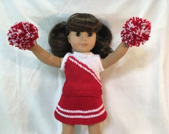 18 Inch Doll American Girl Cheerleading Outfit