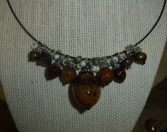 Acorn Necklace AB#9